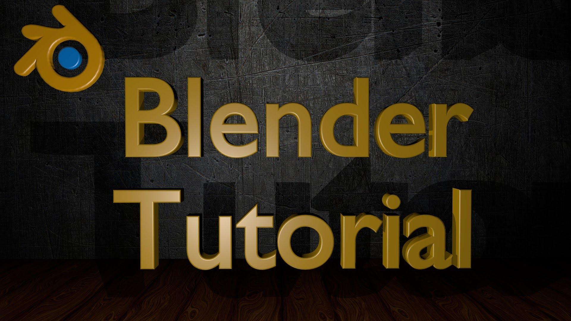 blender 3d youtube