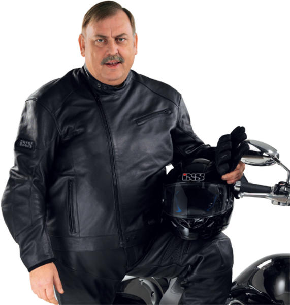 blouson moto grande taille homme