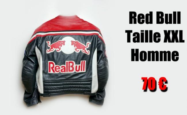 blouson moto red bull