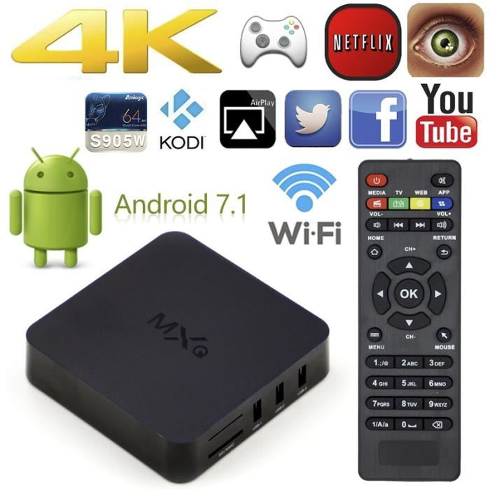 boitier internet tv android