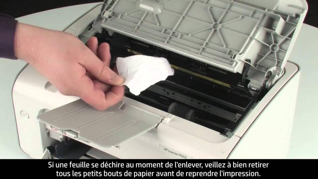 bourrage papier imprimante