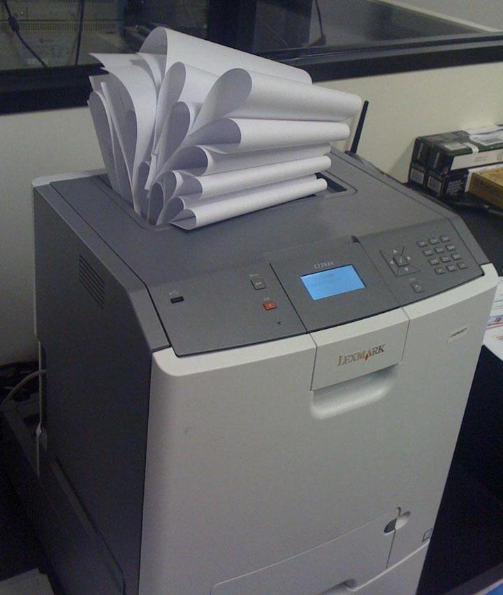 bourrage papier
