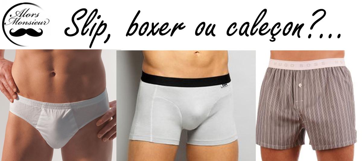boxer ou caleçon