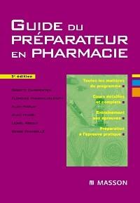 bp préparateur en pharmacie livre