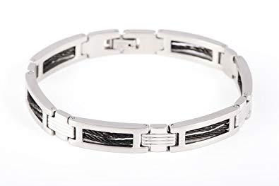 bracelet acier inoxydable homme