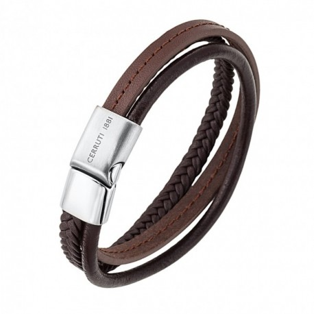 bracelet cuir homme cerruti