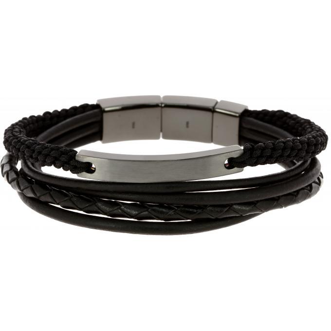 bracelet en cuir fossil