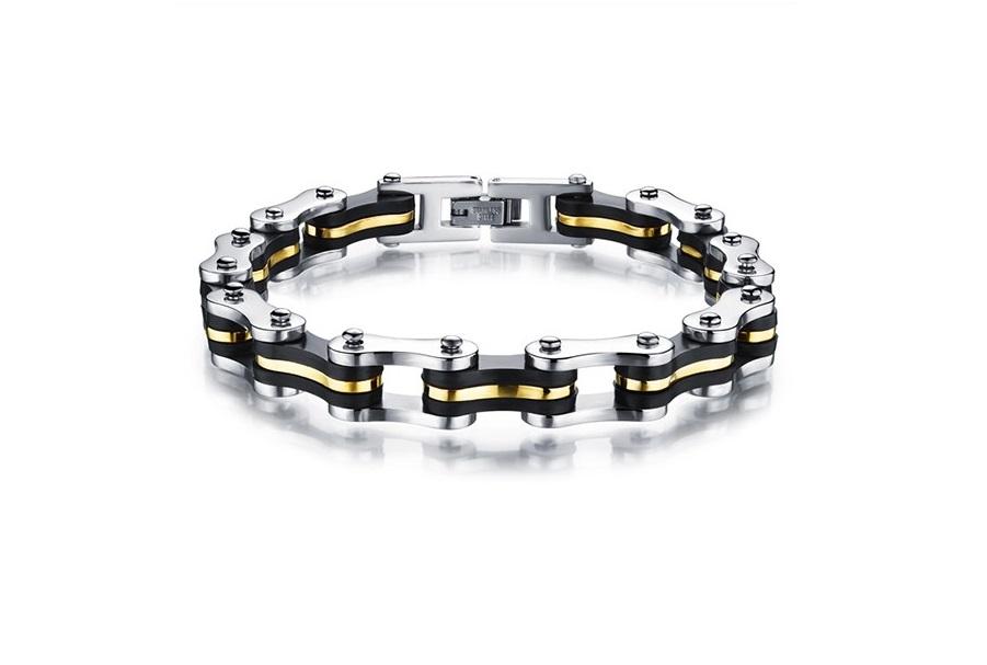 bracelet homme chaine de moto