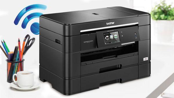 brancher imprimante wifi