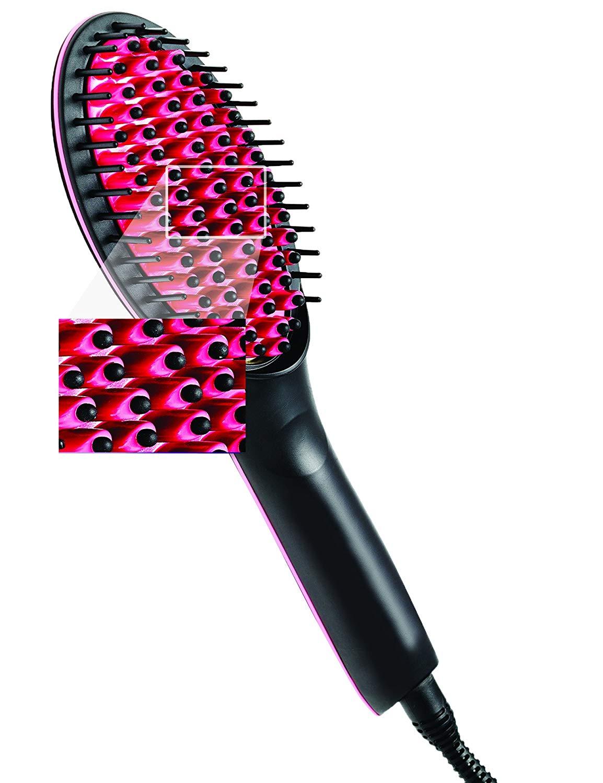 brosse à cheveux lissante