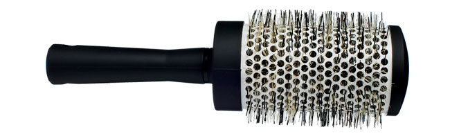 brosse a cheveux ronde pour brushing