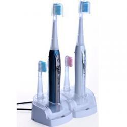 brosse à dents électrique double