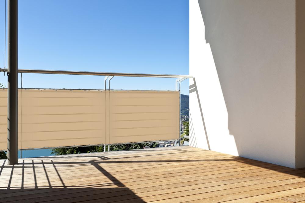cache vue pour balcon