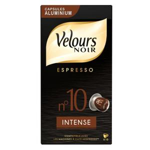 café velours noir pas cher