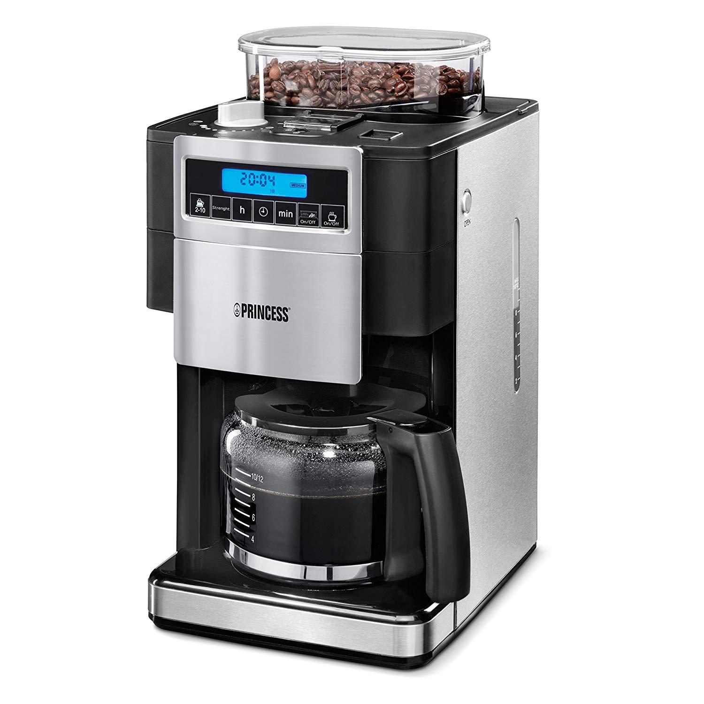 cafetière avec moulin à café intégré