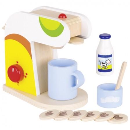 cafetiere en bois jouet