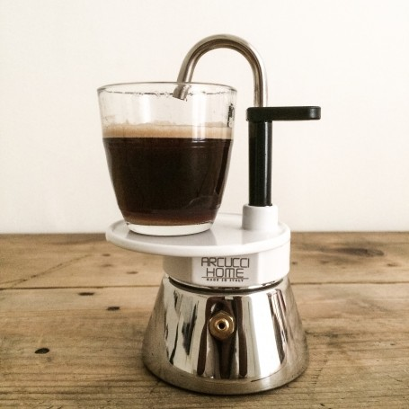 cafetiere italienne verre