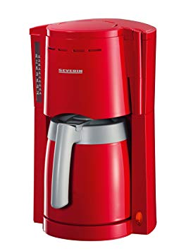 cafetiere thermos rouge