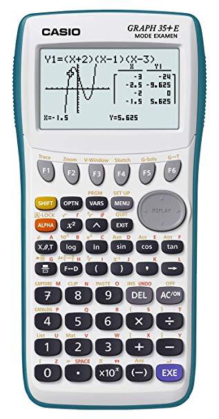 calculatrice casio 35