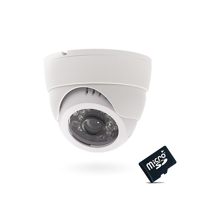 camera de surveillance autonome avec enregistrement