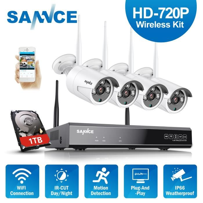 camera de surveillance sans fil exterieur