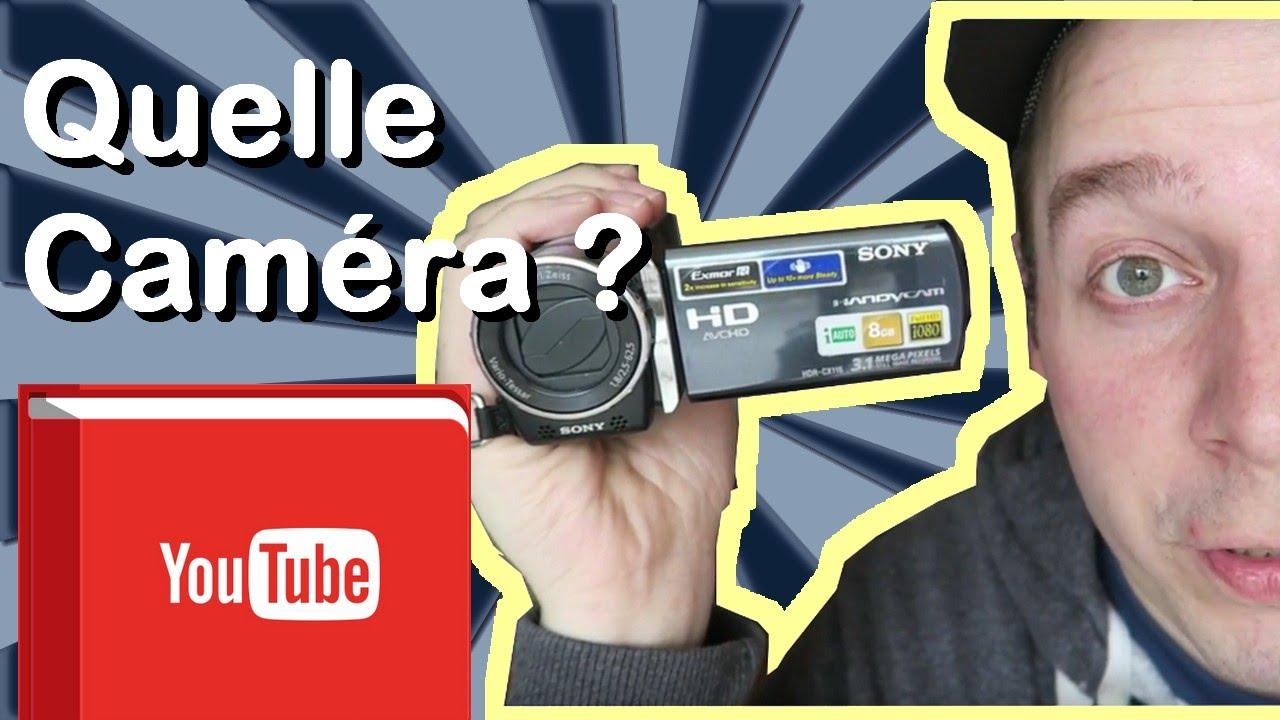 camera pas cher pour youtube