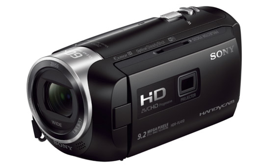 camescope sony hdr pj410 test