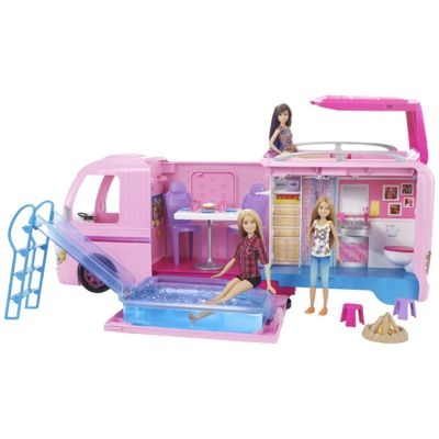 camping car barbie