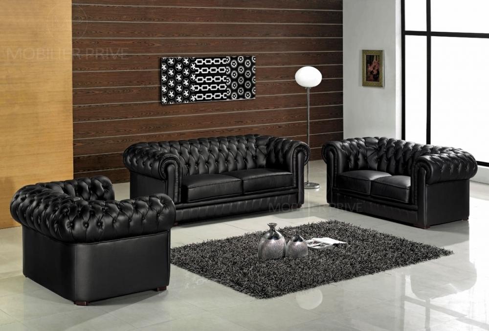 canapé 3 2 1 cuir