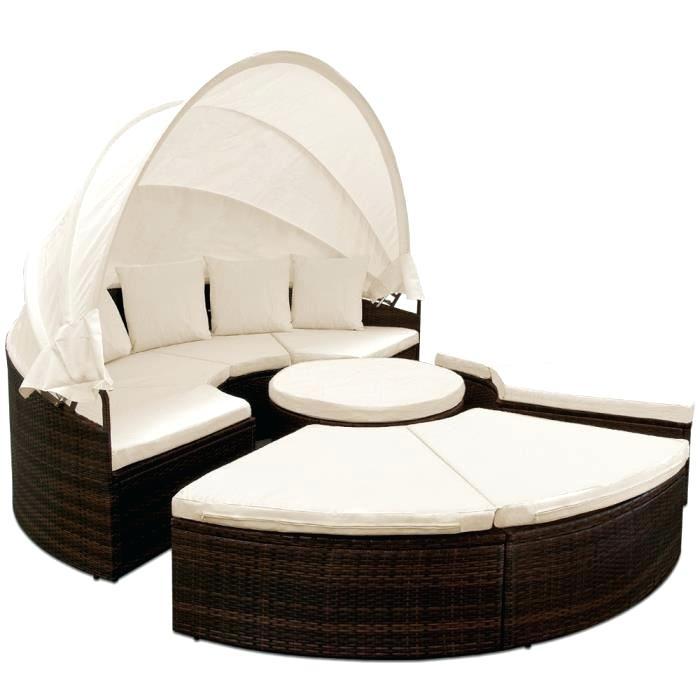 canapé lit de jardin