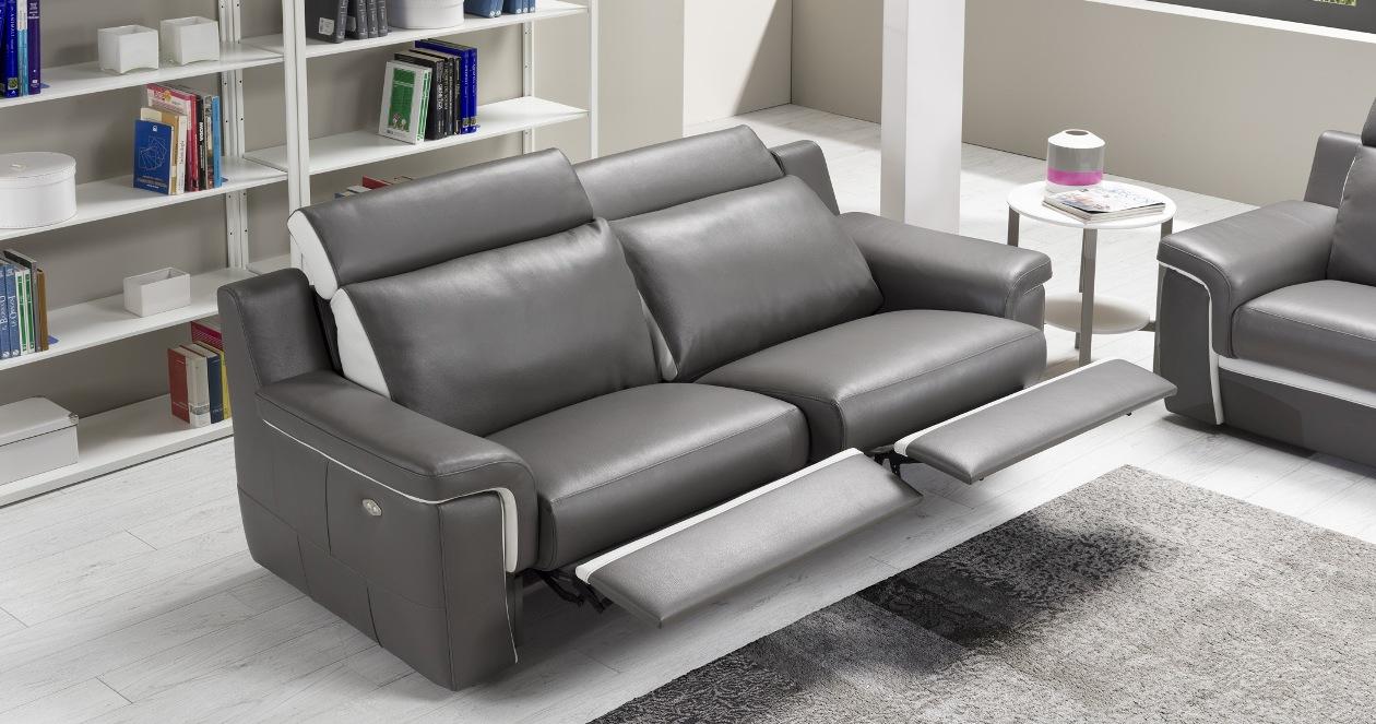 canapé relax cuir