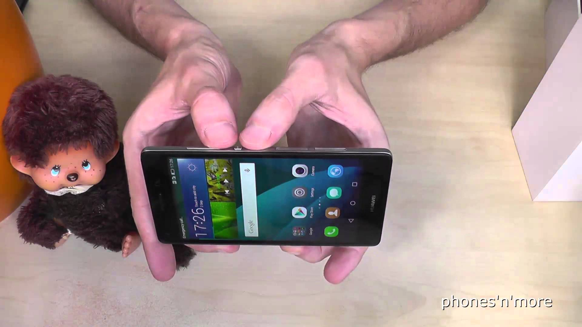 capture d écran huawei p8 lite