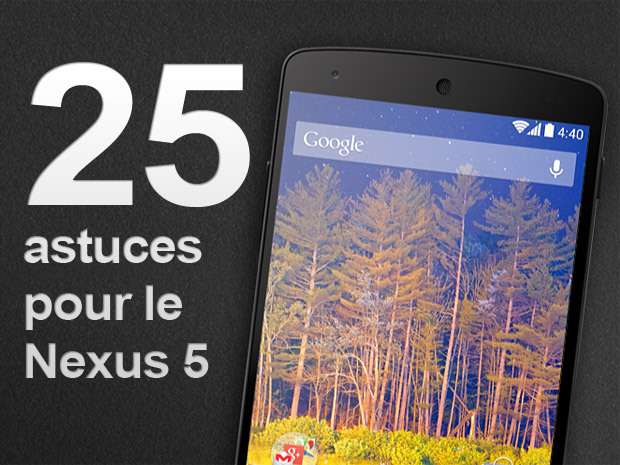 capture d écran nexus 5