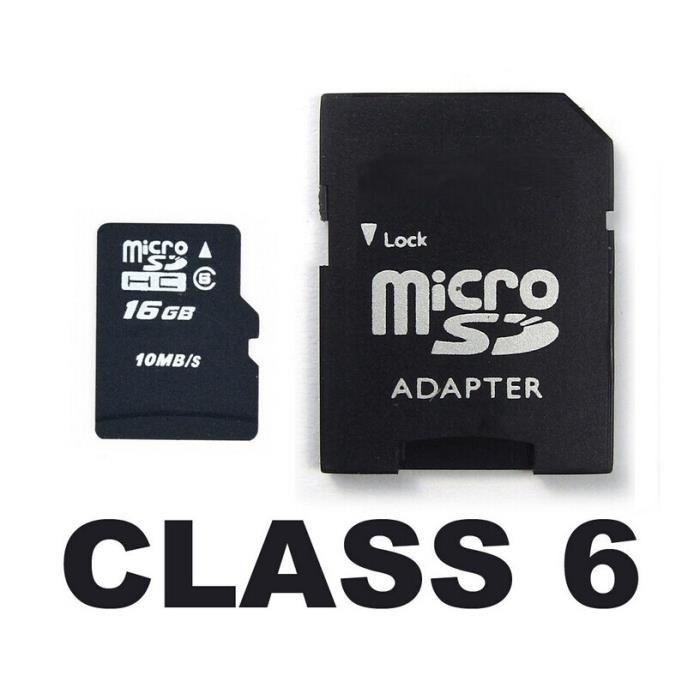 carte memoire classe