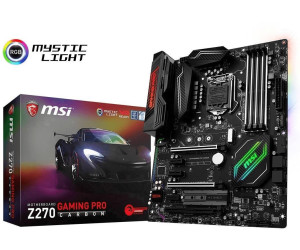carte mère msi z270 gaming pro carbon