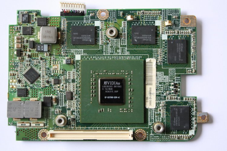 carte video toshiba satellite