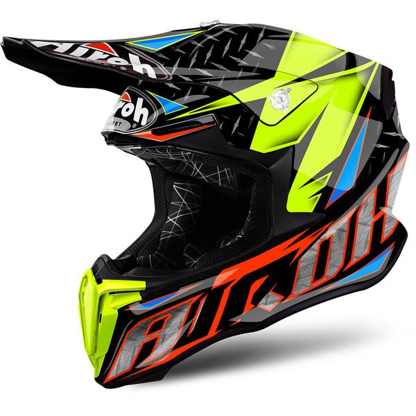 casque de moto cross
