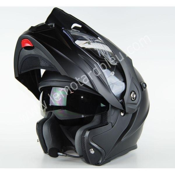 casque moto avec micro intégré
