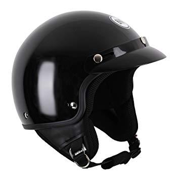 casque moto demi jet