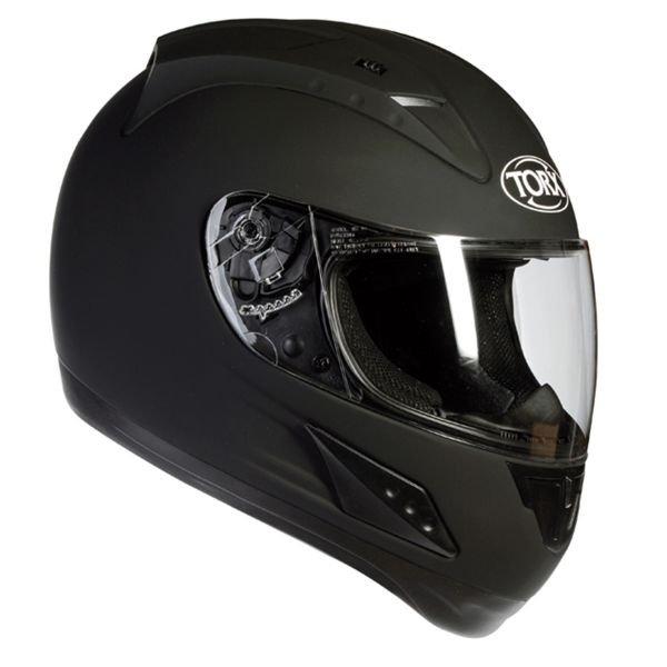 casque moto noir