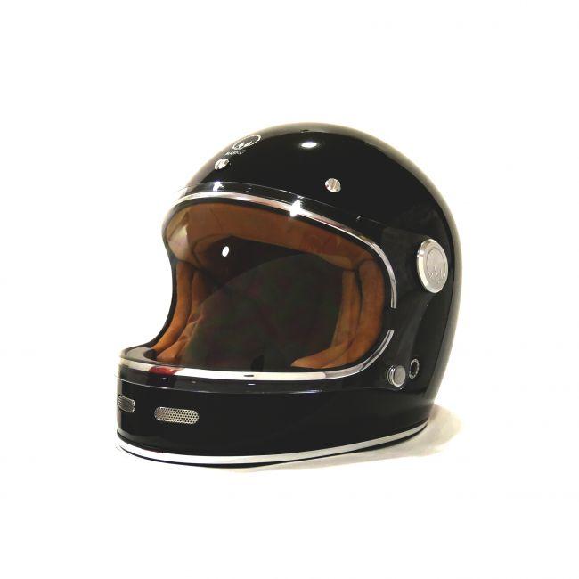 casque moto retro