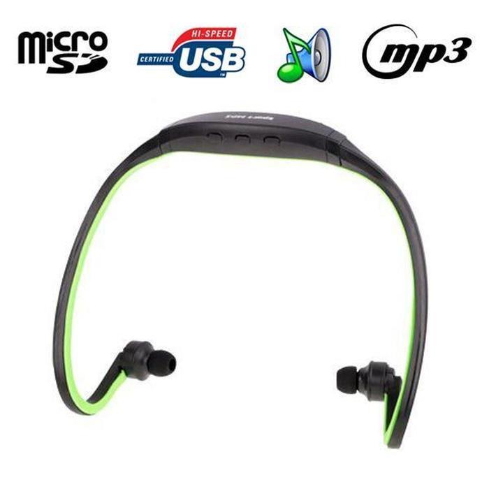 casque mp3 sport sans fil