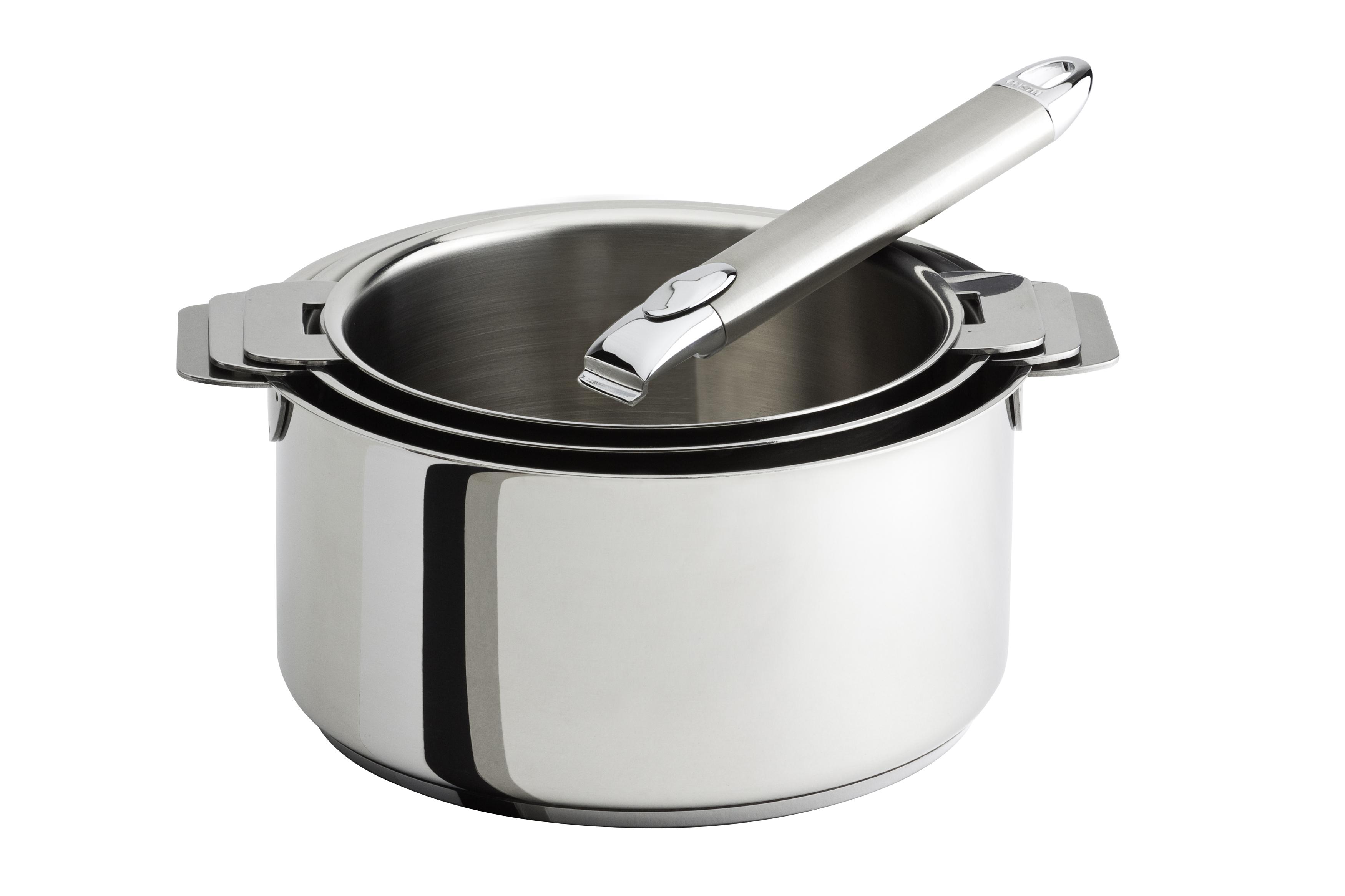 casserole avec manche amovible