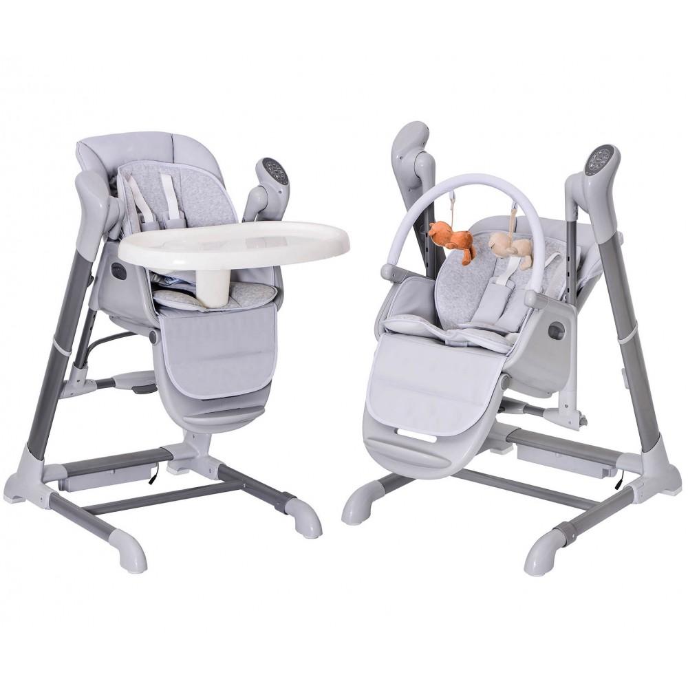 chaise haute balancelle electrique