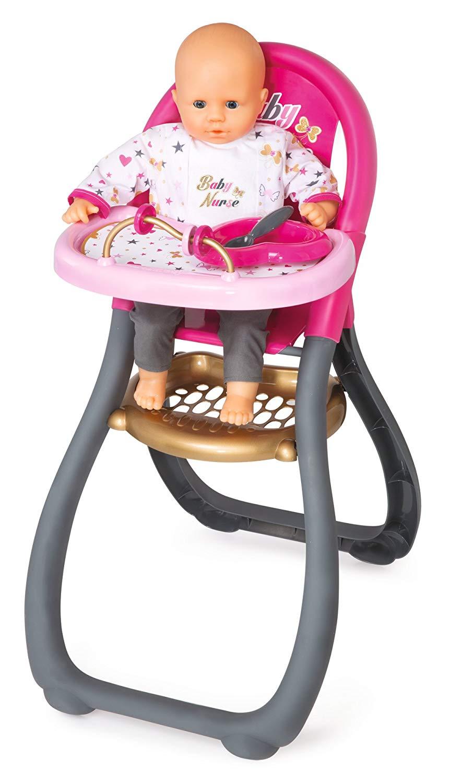 chaise haute bébé jouet