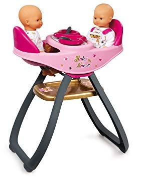 chaise haute jumeaux