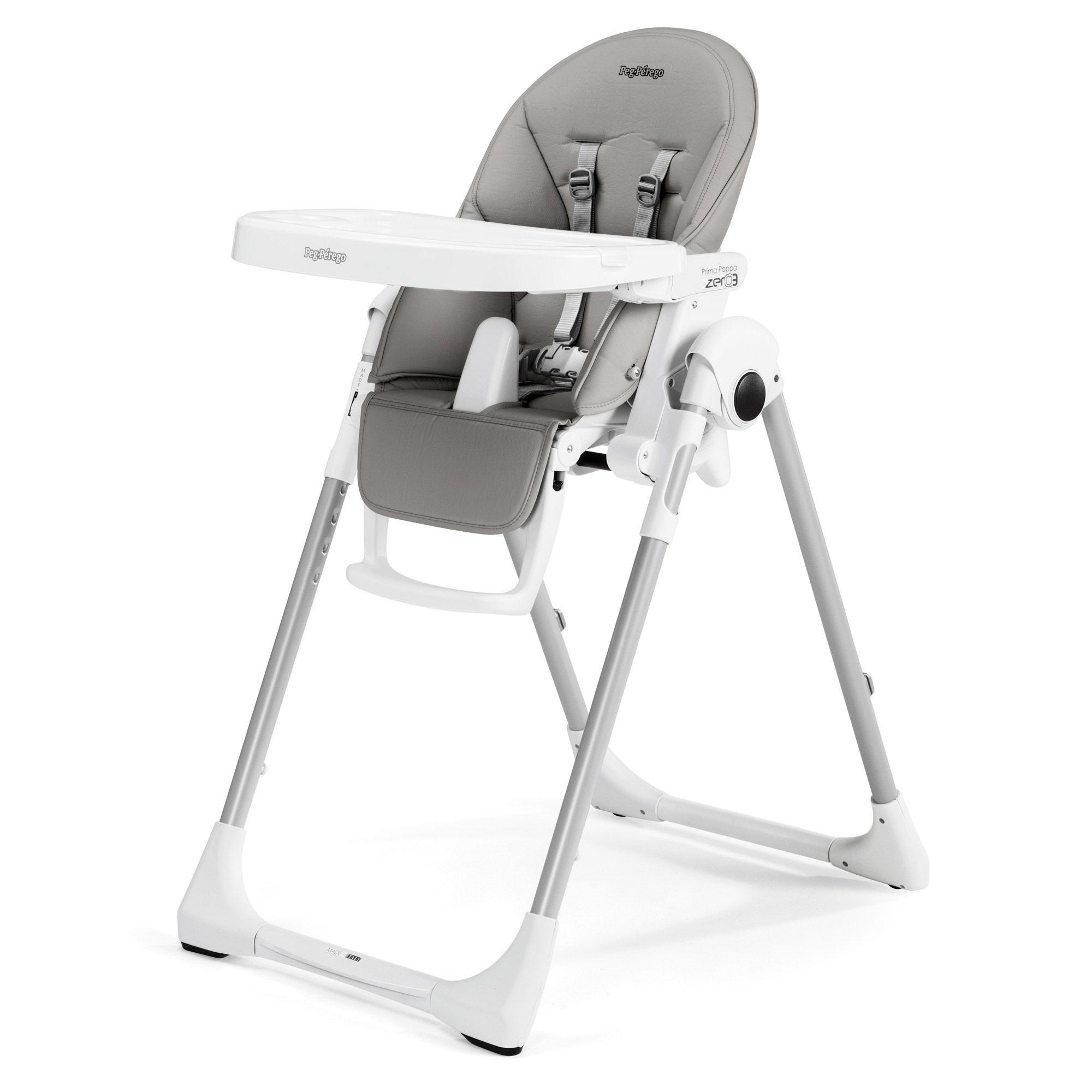 chaise haute peg perego prima pappa zero3