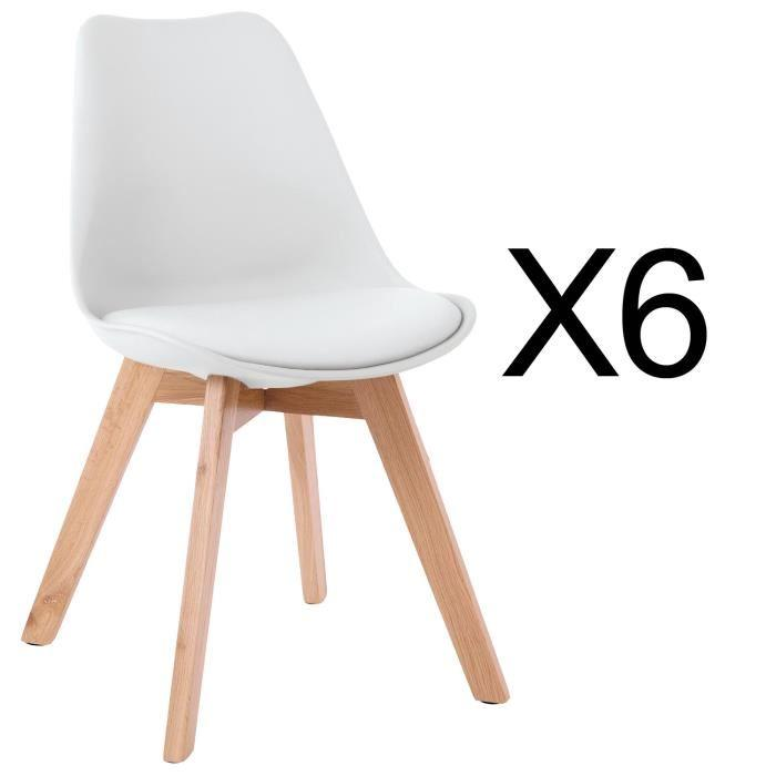 chaises scandinaves pas cher