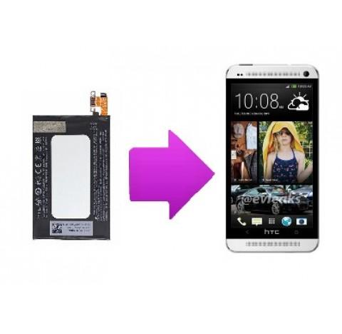 changement batterie htc one m7