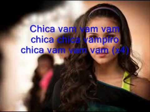 chanson chica vampiro